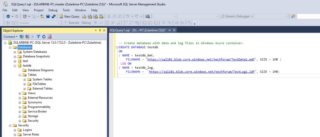 create-database-sql